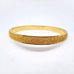 Monet Golden Bangle Bracelet